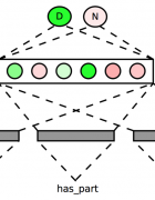 Forward propagation for an example: (cat, has_part, tail). Minh Ngoc Lê
